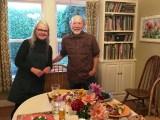 Dinner with friends Georgina & Tom