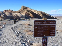 Zabriskie Point Trailhead