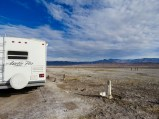 RV site at Delight's Hot Springs