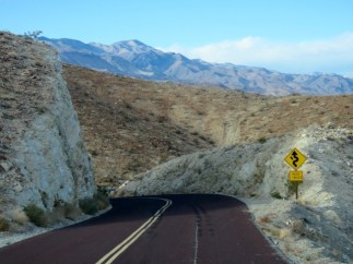 Coming into Death Valley on Highway 190