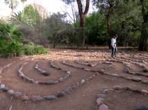 Labyrinth at the arboretum
