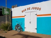 Everything in Marfa is colorful and quirky