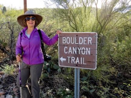 Boulder Canyon trailhead