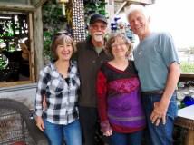 With Karen & Krash at the Tiki Bar