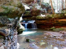 Old Man's Cave Falls