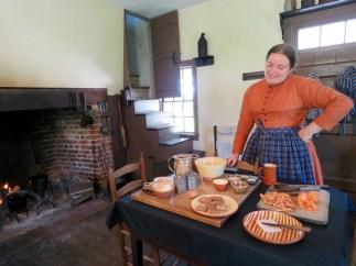 Making sweet potato biscuits