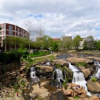 Reedy Falls in downtown Greenville