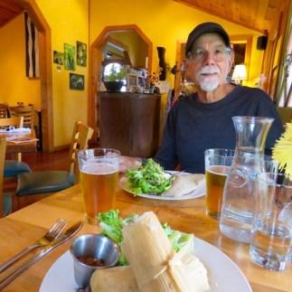 Tamales at La Ginguette in Black Mountain