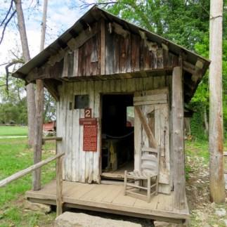 A tiny Appalachian cabin