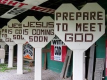 Concrete signs for God