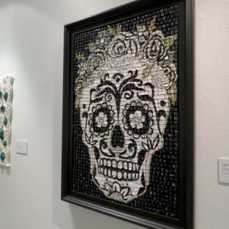 International Mosaic Exhibition; this is made of computer keys