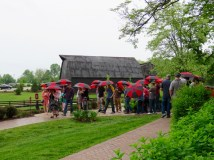 Maker's Mark tour on a rainy day