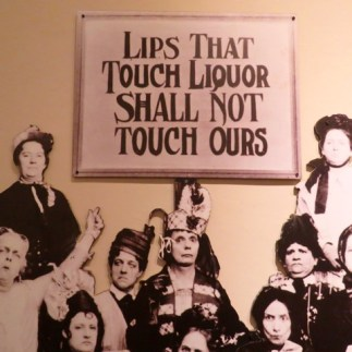 Hilarious poster at the whiskey museum