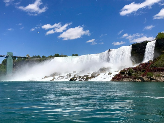 American Falls and Bridal Veil Falls, view from the Canadian side