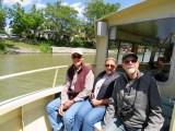 A fun crew aboard the Sam Patch