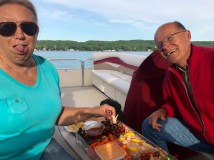 Happy Hour on the boat
