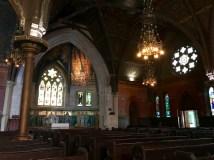 Inside Sage Chapel