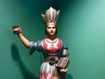 Cigar store Indian maiden