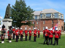 Changing of the guard, Fredericton, NB