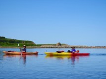 Kayaking Margaree Harbor