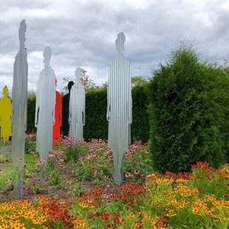 Late summer blooms in Kingsbrae Gardens