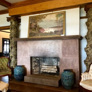 Living room with Van Horne's painting