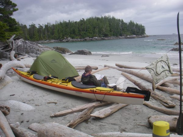 One of the highlights of sea kayaking is having time and space to read.