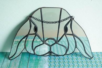 (Sold: Berlin, Germany) Geometric Bunny Lop Mirror