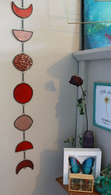 (Sold: Eindhoven, The Netherlands) Moon Phases Red