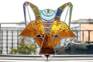 (Sold: Florida, USA) Geometric Boho Fox