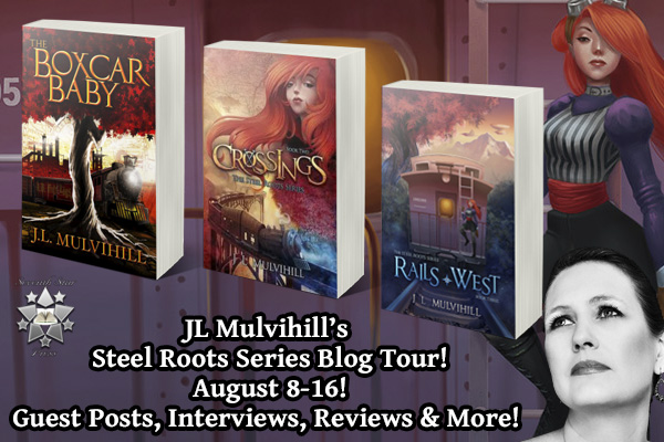 Steel Roots Blog Tour: Q&A With Author JL Mulvihill