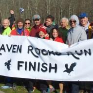 Many of the Raven Rocks Run volunteers