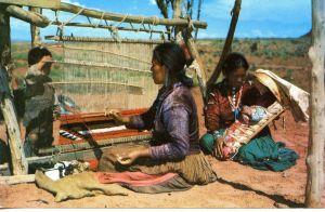 Native American weaving