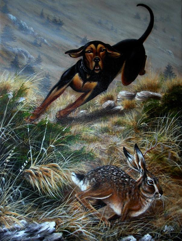 Hunting scenes (5/6)