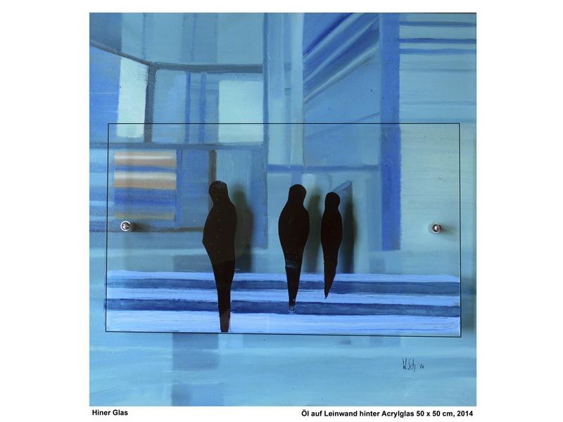 Wolfgang Schmidberger: Hinter Glas