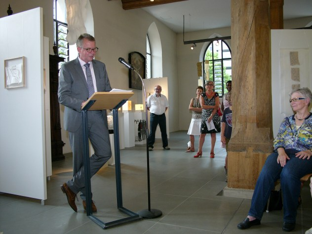 VielFaltPapier - Ausstellungseröffnung: Hans-Ludwig Schubert