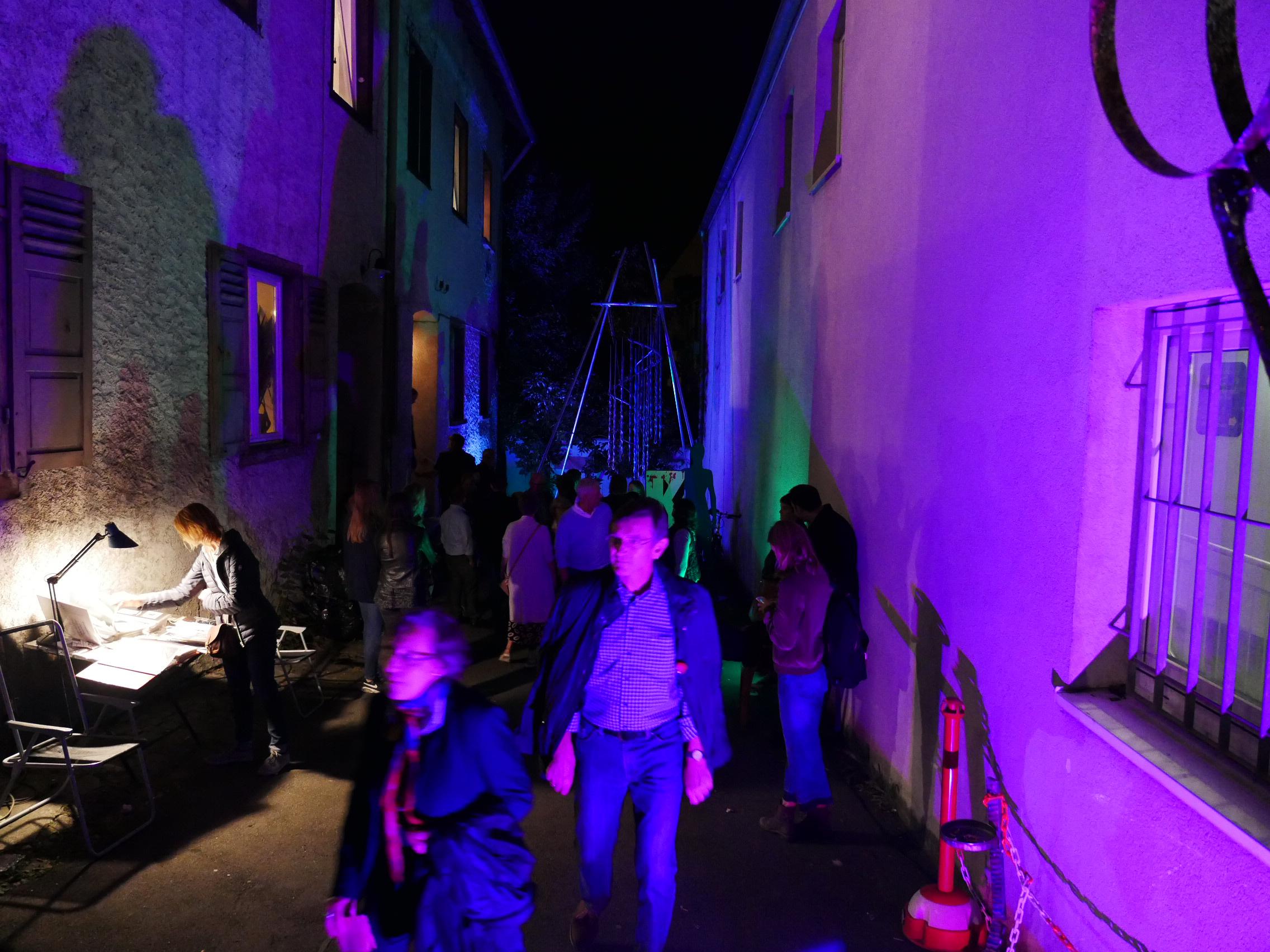 kunstnacht 2017 mitten drin ravensburg weingartener kunstverein e v. Black Bedroom Furniture Sets. Home Design Ideas