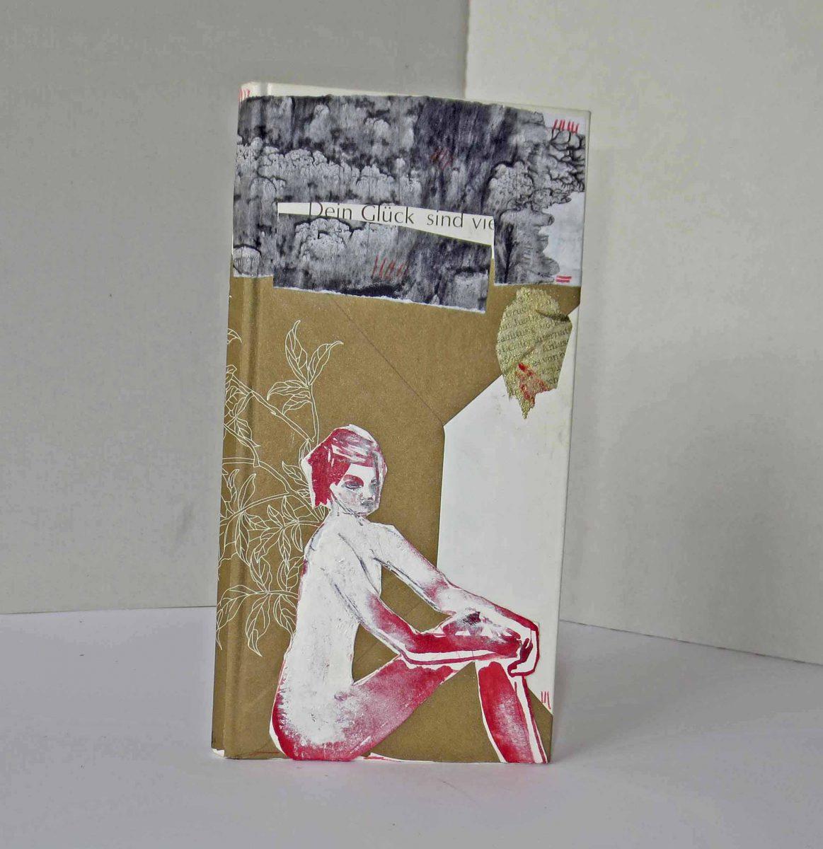 Anne Messmer-Steinman: Kunstbuch Titelseite DEIN GLÜCK