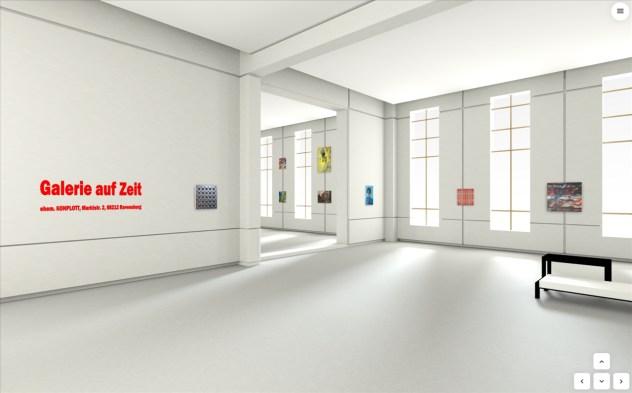 Ravensburg-Weingartener Kunstverein: Virtuelle Galerie auf Zeit