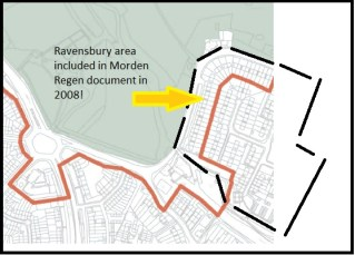 Ravensbury in More Morden doc 2008