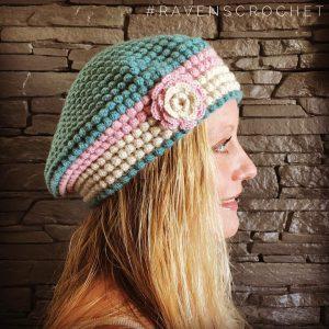 Crocheted Bubble Hat
