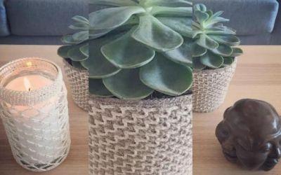 DIY Crocheted Decor