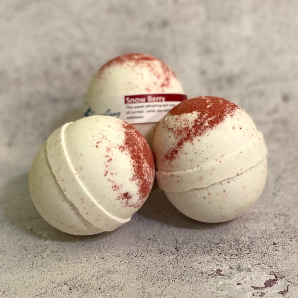 Snow Berry Bath Bombs