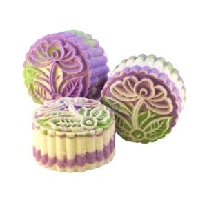 Lavender Fizz Moon Cake