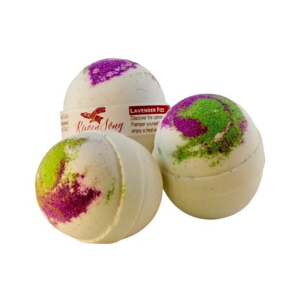 Lavender Essential Oil Bath Bomb
