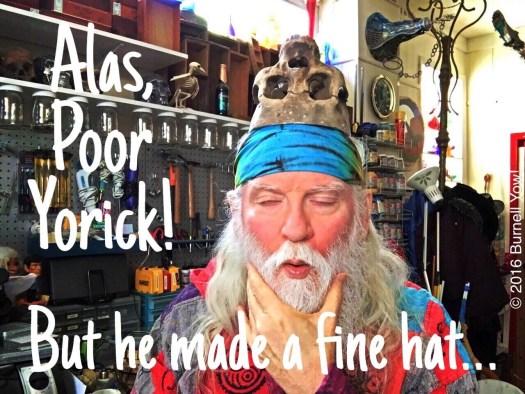 Alas, poor Yorick!