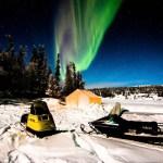 Aurora, Northern Lights, Yellowknife, Canada, tent aurora viewing