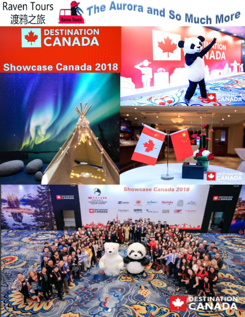 Destination Canada, Raven Tours, Beijing Trade Show