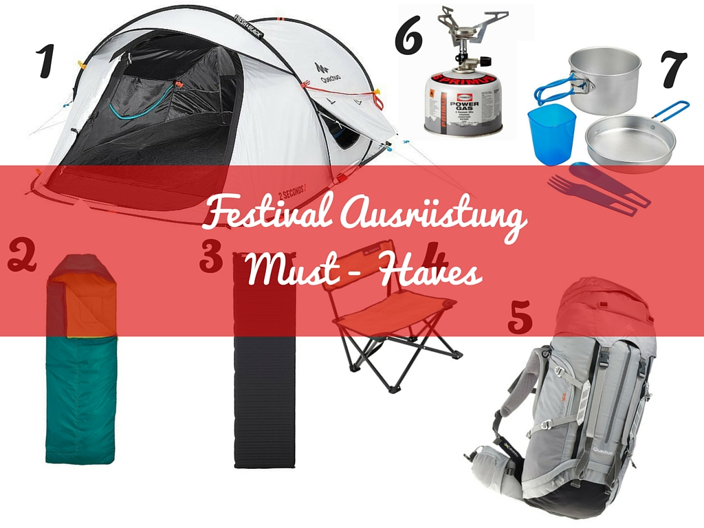 Festival-Ausrüstung