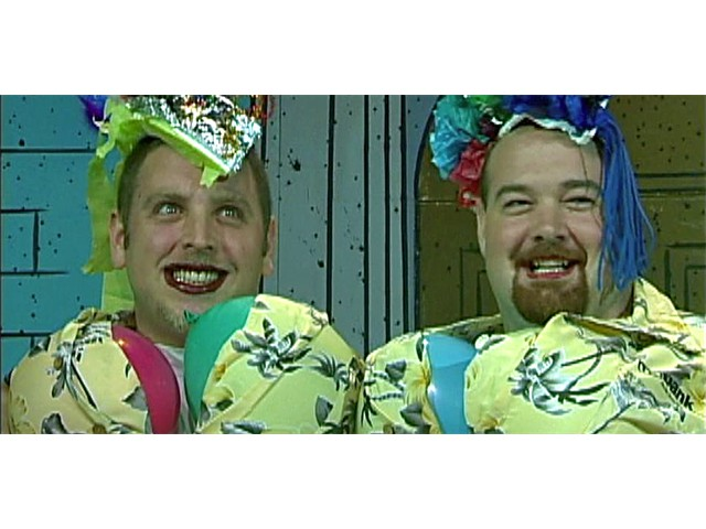 Corporate Super Heroes - The Wonder Twins